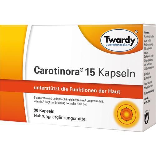 Carotinora 15 Kapseln, 90 ST, Astrid Twardy GmbH