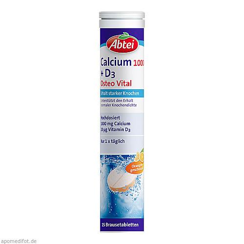 ABTEI Calcium 1000 + D3 (Osteo Vital) Brause, 15 ST, Omega Pharma Deutschland GmbH