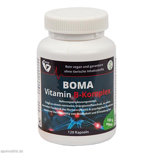 Vitamin B-Komplex, 120 ST, Boma Lecithin GmbH