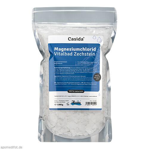Magnesiumchlorid Vitalbad Zechstein, 1 KG, Casida GmbH & Co. KG
