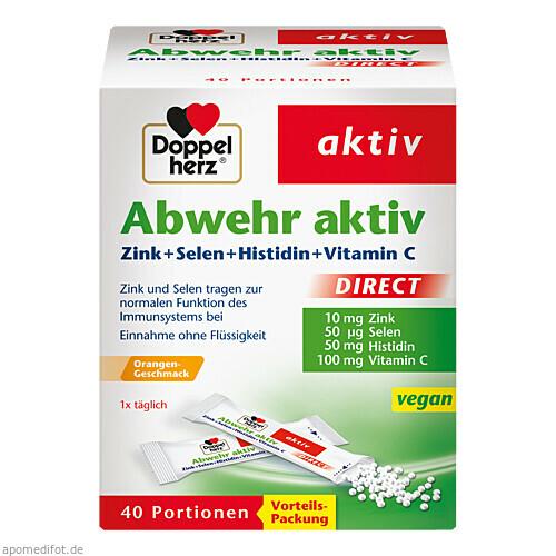 Doppelherz Abwehr aktiv DIRECT, 40 ST, Queisser Pharma GmbH & Co. KG