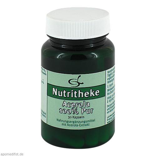 Acerola 100% Pur, 30 ST, 11 A Nutritheke GmbH