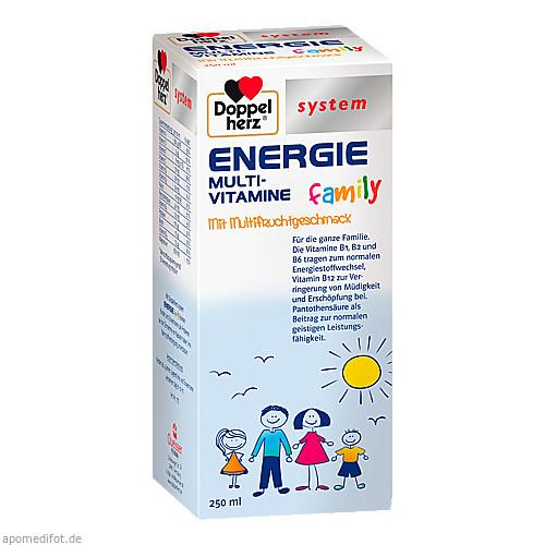 Doppelherz Energie Family system, 250 ML, Queisser Pharma GmbH & Co. KG