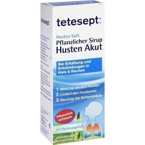 tetesept Husten Saft Pflanzl. Sirup Husten Akut, 150 G, Merz Consumer Care GmbH