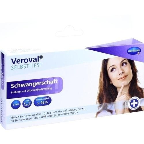 Veroval Schwangerschaft mit Wochenbestimmung, 1 ST, Paul Hartmann AG