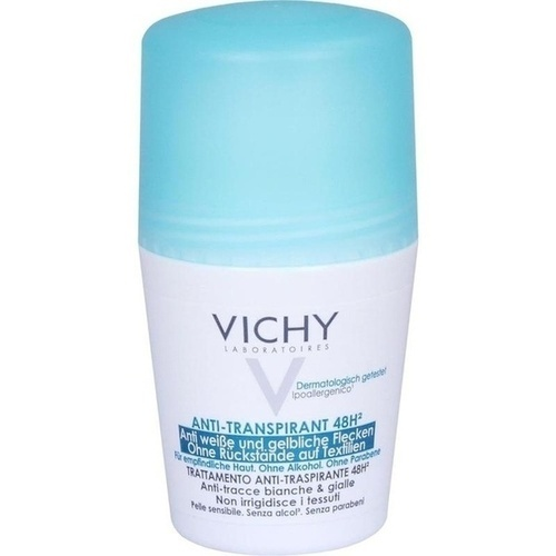 Vichy Deo Roll-On Anti-Flecken 48H, 50 ML, L'oreal Deutschland GmbH