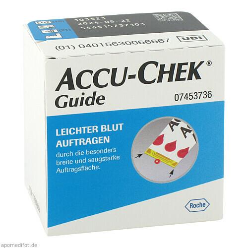 Accu-Chek Guide Teststreifen, 1X50 ST, Roche Diabetes Care Deutschland GmbH