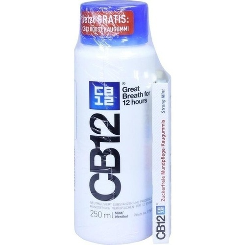 CB12 250ml + CB12 Boost Mint 10 Gums, 1 P, Meda Pharma GmbH & Co. KG