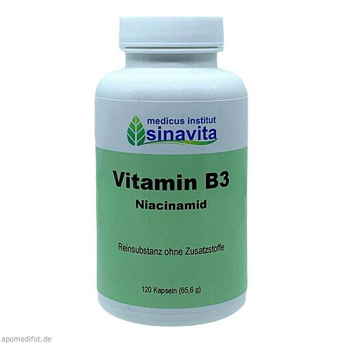 Vitamin B3, 120 ST, Medicus Institut Sinavita