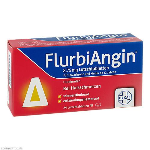 FlurbiAngin 8.75mg Lutschtabletten, 24 ST, HEXAL AG