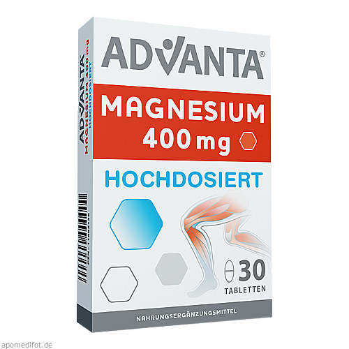 Advanta Magnesium 400mg, 30X1.3 G, Tsi GmbH & Co. KG