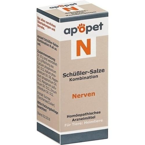 APOPET Schüßler-Salze-Kombination N ad us.vet.Gl., 12 G, Orthim KG