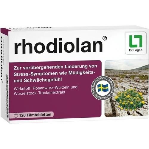 RHODIOLAN Filmtabletten, 120 ST, Dr. Loges + Co. GmbH