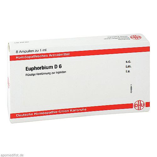 EUPHORBIUM D6 AMPULLEN, 8X1 ML, Dhu-Arzneimittel GmbH & Co. KG