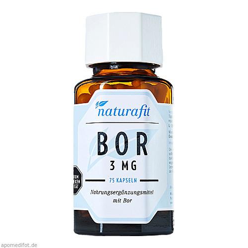Naturafit Bor 3 mg, 75 ST, Naturafit GmbH