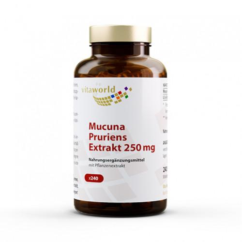Mucuna pruriens Extrakt 250mg, 240 ST, Vita World GmbH