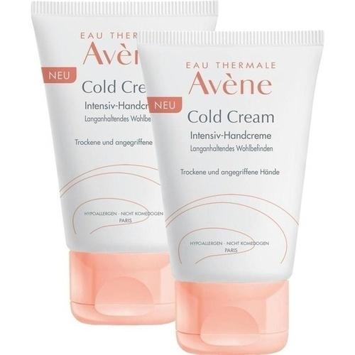 AVENE Cold Cream Intensiv-Handcreme Doppelpack, 2X50 ML, PIERRE FABRE DERMO KOSMETIK GmbH GB - Avene