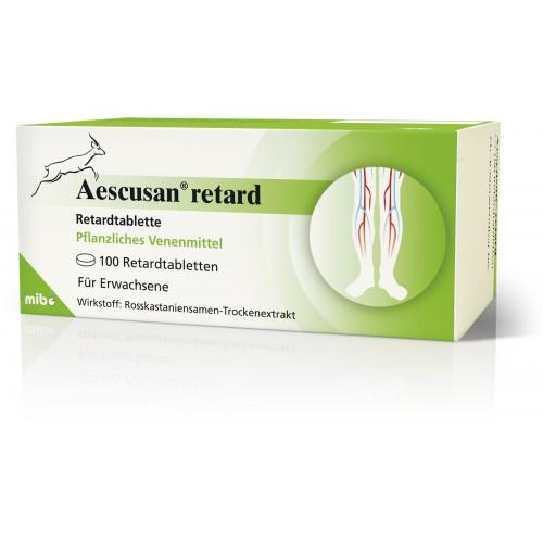 Aescusan retard, 100 ST, Mibe GmbH Arzneimittel