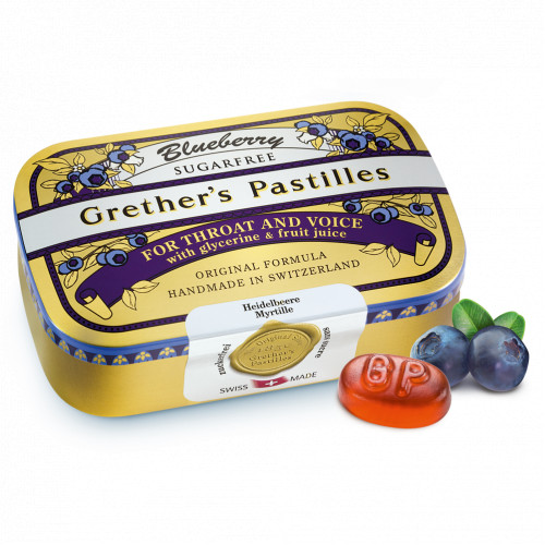 Grether's Blueberry zuckerfrei, 110 G, Hager Pharma GmbH