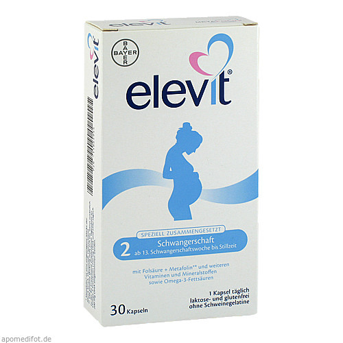 Elevit 2 Schwangerschaft, 30 ST, Bayer Vital GmbH