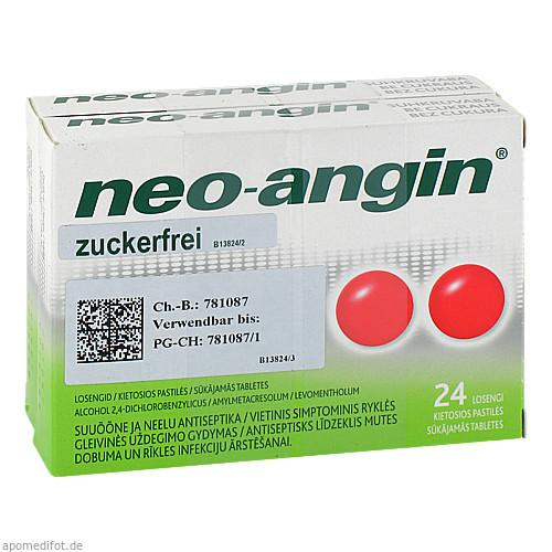 NEO ANGIN Halstabletten zuckerfrei, 48 ST, Pharma Gerke Arzneimittelvertriebs GmbH