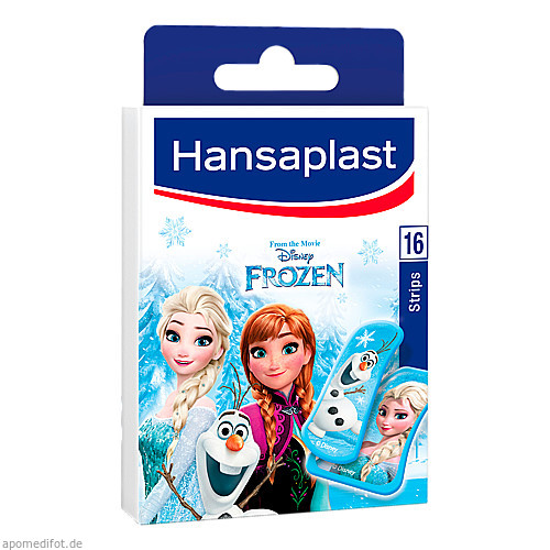 Hansaplast Junior Frozen 16 Strips, 16 ST, Beiersdorf AG