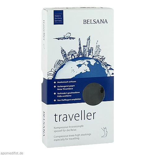 BELSANA traveller A-D Gr. S schwarz Fuß II 39-42, 2 ST, Belsana Medizinische Erzeugnisse