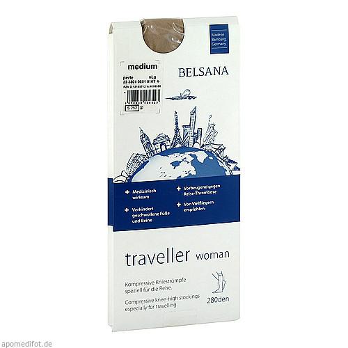 BELSANA traveller woman AD M perle normal, 2 ST, Belsana Medizinische Erzeugnisse
