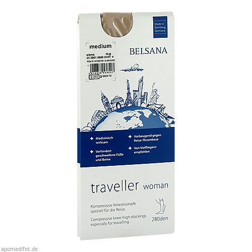 BELSANA traveller woman AD M siena normal, 2 ST, Belsana Medizinische Erzeugnisse