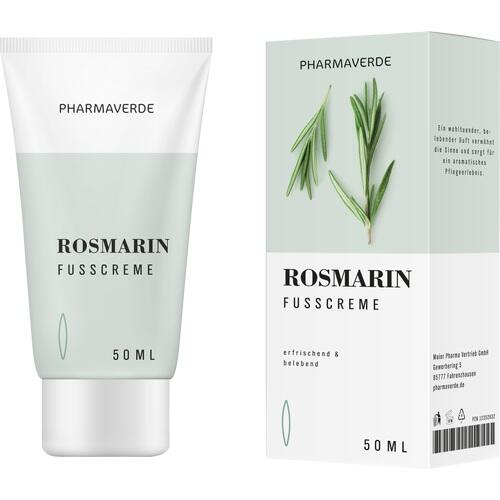 Pharmaverde Rosmarin Fusscreme, 50 ML, Maier Pharma Vertrieb GmbH