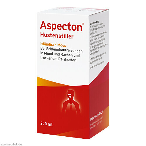 Aspecton Hustenstiller, 200 ML, Krewel Meuselbach GmbH