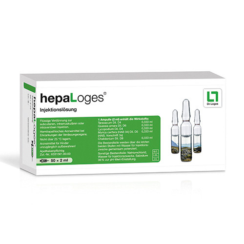 hepaLoges Injektionslösung, 50X2 ML, Dr. Loges + Co. GmbH