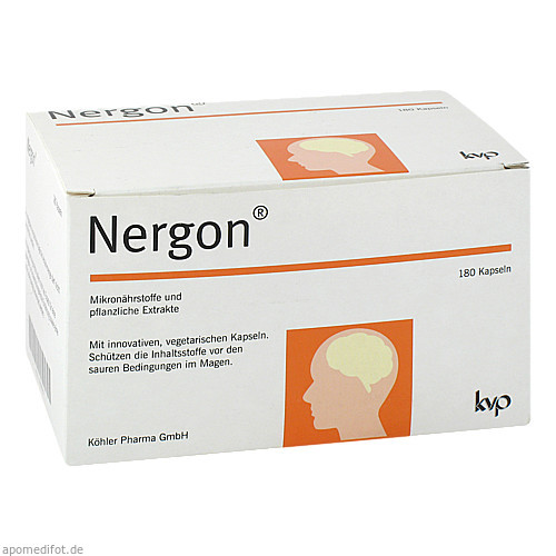 Nergon, 180 ST, Köhler Pharma GmbH
