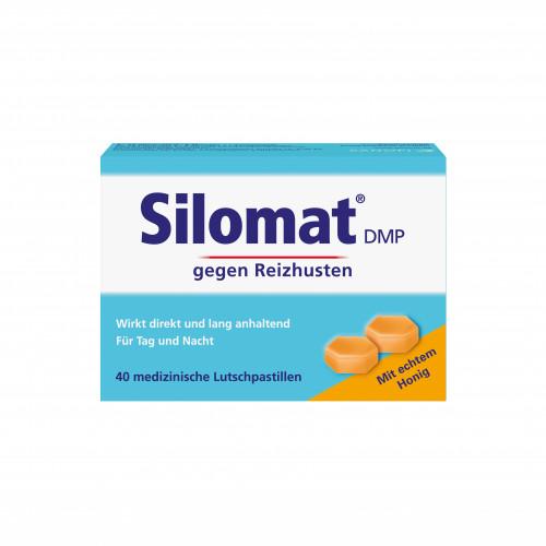SILOMAT DMP gegen Reizhusten Lutschpast.m.Honig, 40 ST, Sanofi-Aventis Deutschland GmbH GB Selbs