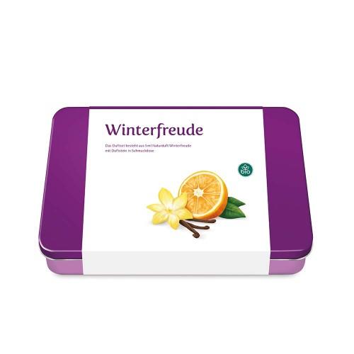 Winterfreude Set inkl. Öl & Geschenkdose, 1 ST, Taoasis GmbH Natur Duft Manufaktur