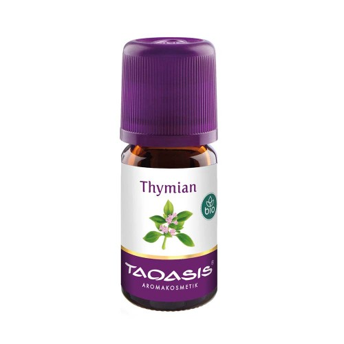 Thymian rot Bio Öl - Typ Thymol, 5 ML, Taoasis GmbH Natur Duft Manufaktur