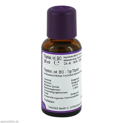 Thymian rot Bio Öl - Typ Thymol, 30 ML, Taoasis GmbH Natur Duft Manufaktur