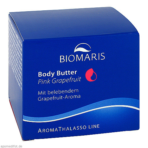 BIOMARIS Body Butter Pink Grapefruit, 200 ML, Biomaris GmbH & Co. KG