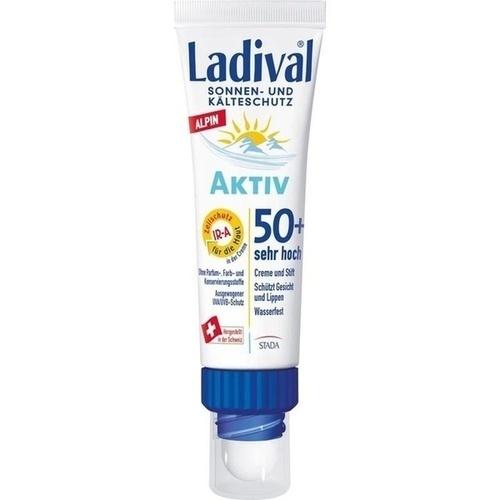 Ladival Aktiv Alpin Sonnen-u.Kälteschutz Kombi 50+, 1 P, STADA GmbH