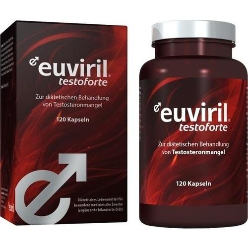 euviril testoforte, 120 ST, Sanimamed Europe Health S.R.L.