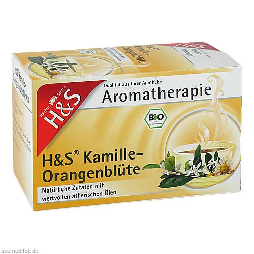 H&S Bio Kamille-Orangenblüte Aromatherapie, 20X1.2 G, H&S Tee - Gesellschaft mbH & Co.