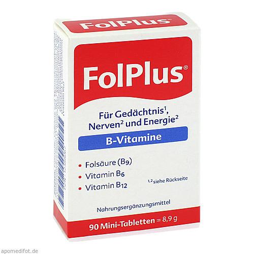 FolPlus, 90 ST, Steripharm Pharmazeutische Produkte GmbH & Co. KG