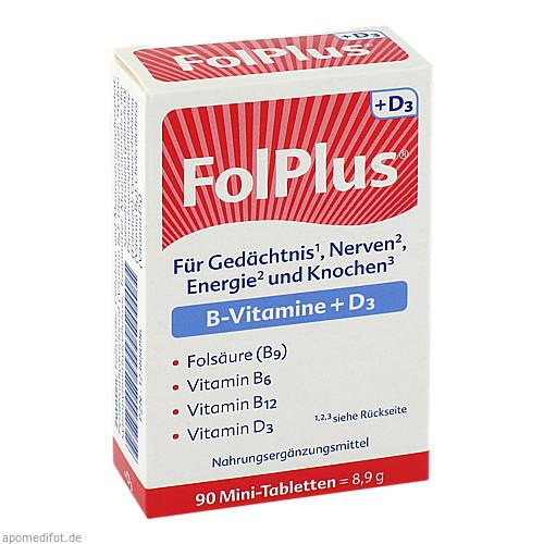 FolPlus + D3, 90 ST, Steripharm Pharmazeutische Produkte GmbH & Co. KG