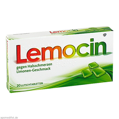Lemocin gegen Halsschmerzen, 20 ST, GlaxoSmithKline Consumer Healthcare