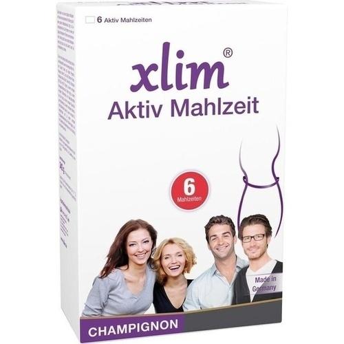xlim Aktiv Mahlzeit Champignon, 6 ST, Biomo-Vital GmbH
