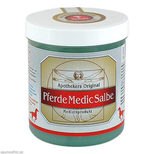 PferdeMedicSalbe Apothekers Orig Pferdesalbe Dose, 600 ML, Equimedis Dr. Jacoby GmbH & Co. KG