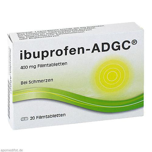 Ibuprofen-ADGC 400 mg, 20 ST, Ksk-Pharma Vertriebs AG