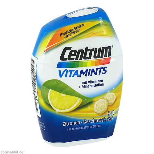 Centrum Vitamints Zitronen-Geschmack, 50 ST, Pfizer Consumer Healthcare GmbH