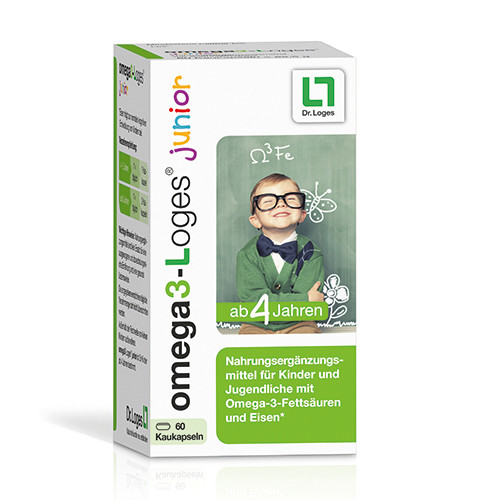 omega3-Loges junior, 60 ST, Dr. Loges + Co. GmbH