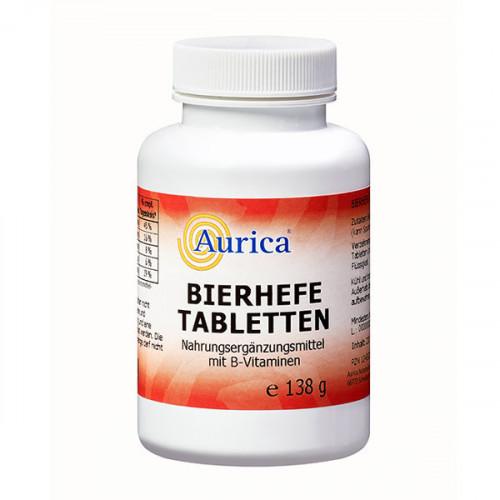 Bierhefe Tabletten Aurica, 230 ST, AURICA Naturheilmittel und Naturwaren GmbH